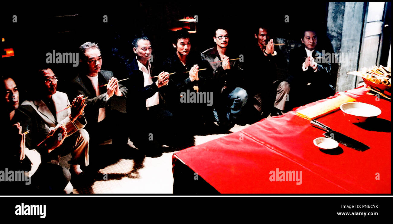 Prod DB © Milky Way / DR ELECTION (HAK SE WUI) de Johnny To 2005 HK triades, mafia Stock Photo