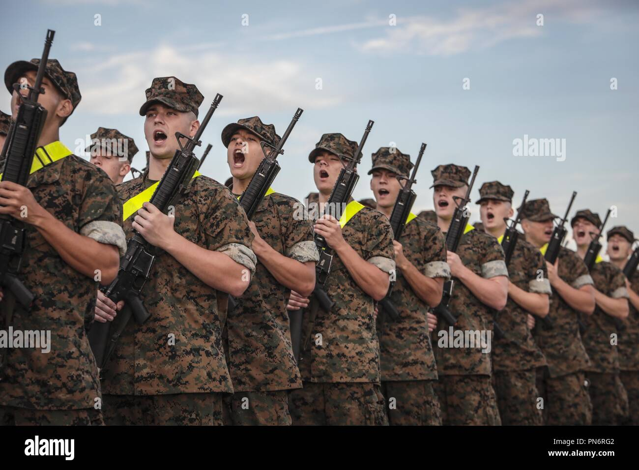 us marine corps drill instructor stock photos  u0026 us marine