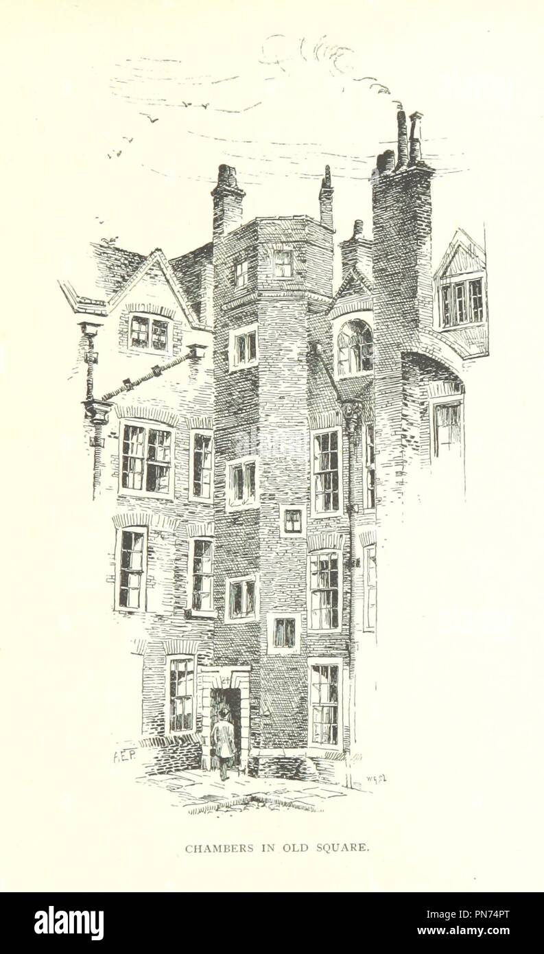 Image  from page 219 of 'The Inns of Court and Chancery . New edition' . - Stock Image