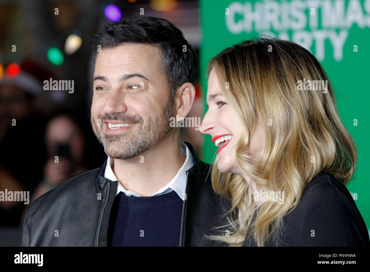 Molly Mcnearney And Jimmy Kimmel Stock Photos & Molly Mcnearney And ...