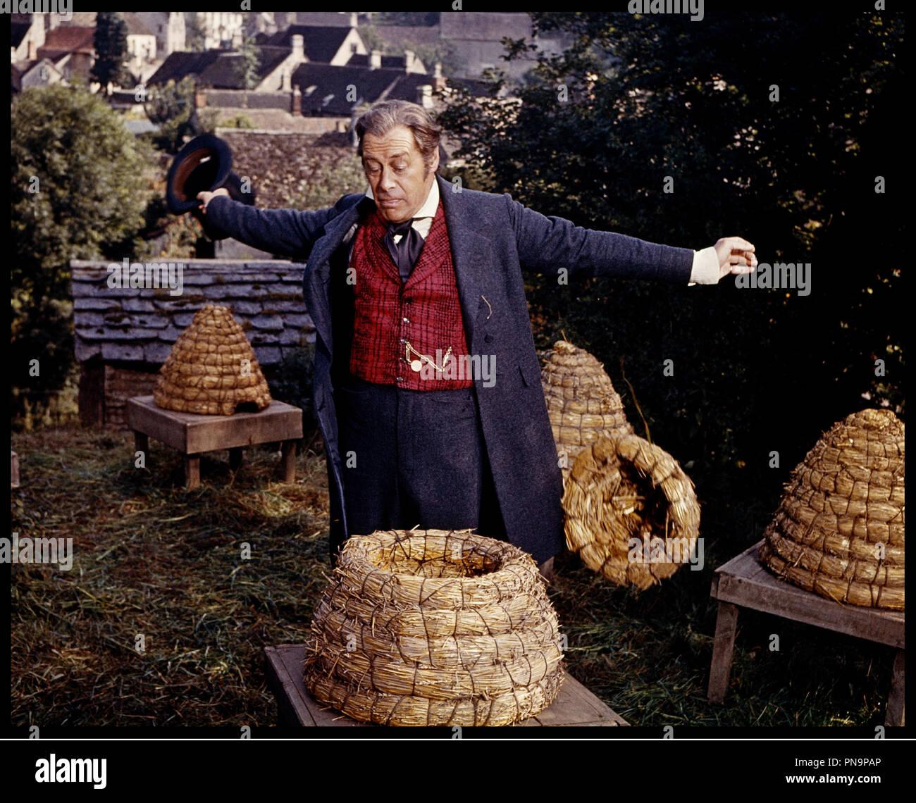 Prod DB © 20th Century Fox / DR L'EXTRAVAGANT DOCTEUR DOLITTLE (DOCTOR DOLITTLE) de Richard Fleischer 1967 USA avec Rex Harrison nids d'abeille, montre a gousset, ouvrir les bras, paille,  d'apres le roman de Hugh Lofting - Stock Image