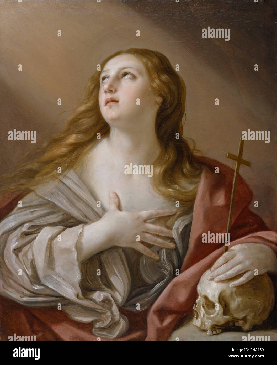 The Penitent Magdalene Dateperiod Ca 1635 Baroque