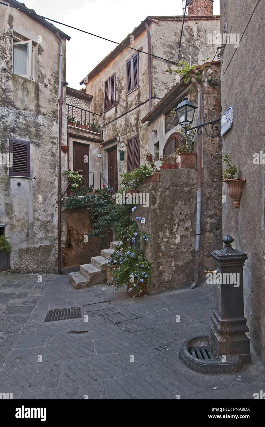 Capalbio, Grosseto province, Tuscany, Italy    Photo © Fabio Mazzarella/Sintesi/Alamy Stock Photo - Stock Image