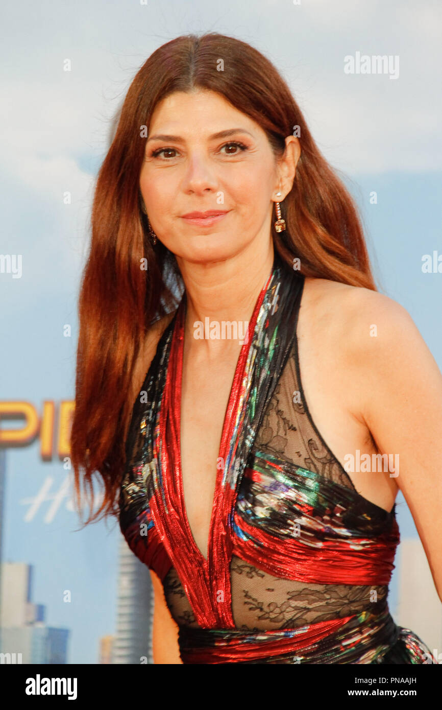 Marisa Tomei at the World Premiere of Columbia Pictures' 'Spider-Man: Homecoming' held at the TCL Chinese Theater in Hollywood, CA, June 28, 2017. Photo by Joseph Martinez / PictureLux - Stock Image