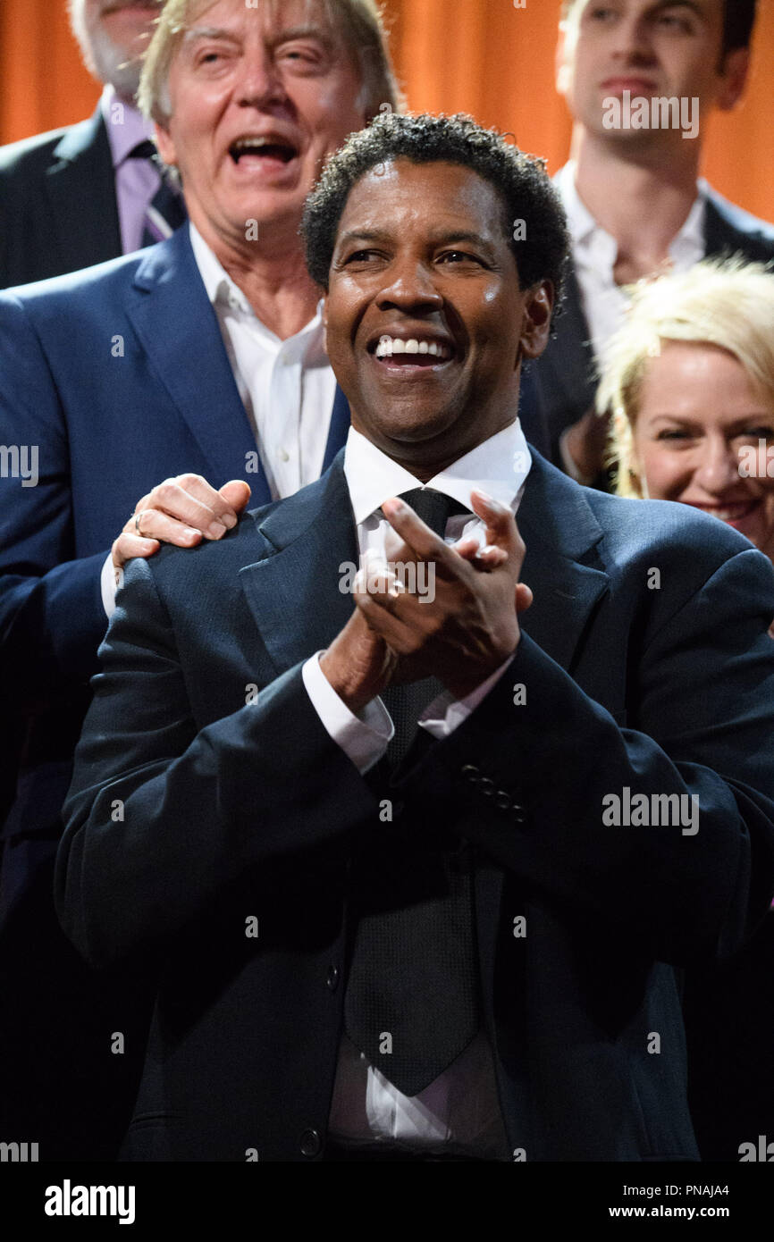 Denzel Washington at the Oscar® Nominees Luncheon in Beverly Hills Monday, February 6, 2017. The 89th Oscars® will air on Sunday, February 26, live on ABC.  File Reference # 33227_017THA  For Editorial Use Only -  All Rights Reserved - Stock Image
