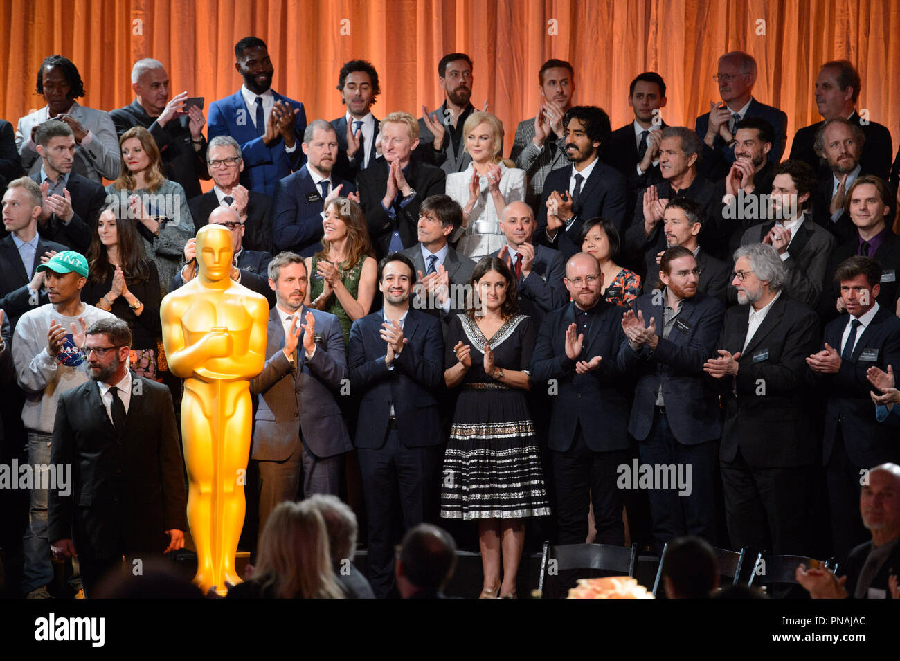 The Oscar® Nominees Luncheon in Beverly Hills Monday, February 6, 2017. The 89th Oscars® will air on Sunday, February 26, live on ABC.  File Reference # 33227_022THA  For Editorial Use Only -  All Rights Reserved - Stock Image