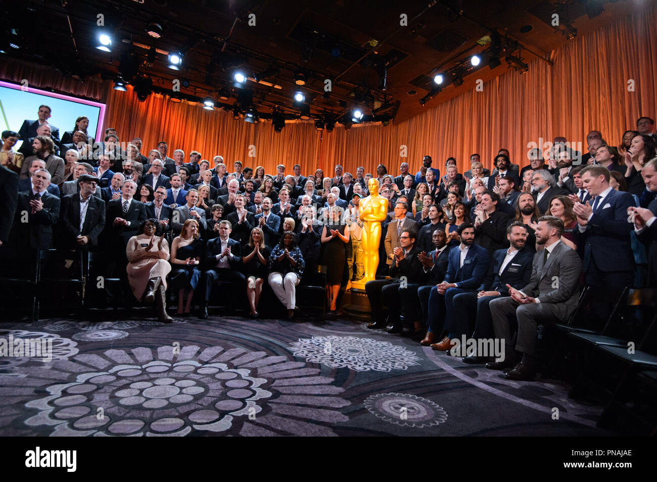 The Oscar® Nominees Luncheon in Beverly Hills Monday, February 6, 2017. The 89th Oscars® will air on Sunday, February 26, live on ABC.  File Reference # 33227_024THA  For Editorial Use Only -  All Rights Reserved - Stock Image