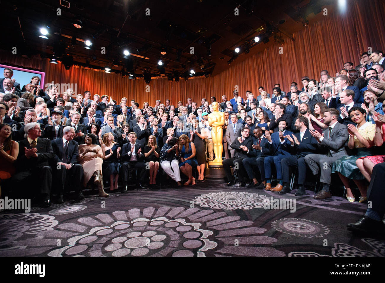 The Oscar® Nominees Luncheon in Beverly Hills Monday, February 6, 2017. The 89th Oscars® will air on Sunday, February 26, live on ABC.  File Reference # 33227_025THA  For Editorial Use Only -  All Rights Reserved - Stock Image