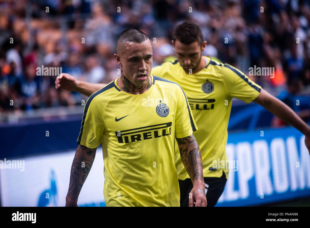 buy cheap 4fd80 77376 Radja Nainggolan (Inter Milan) during the UEFA Champions ...