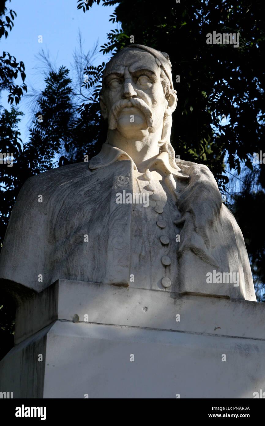 Greek heroes Stock Photo