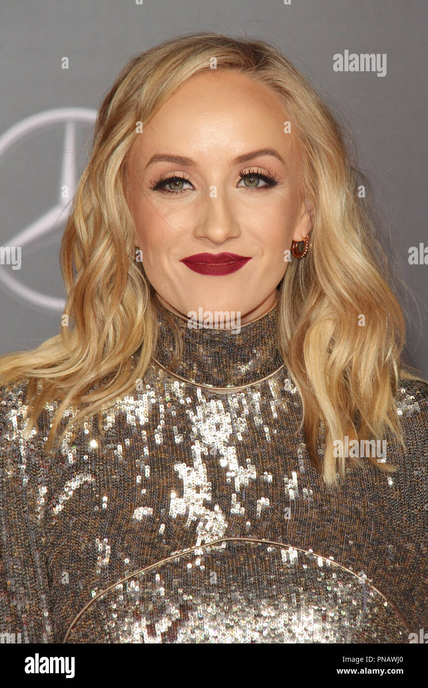 Nastia Liukin at the World Premiere of Warner Bros' 'Justice League' held at the Dolby Theater in Hollywood, CA, November 13, 2017. Photo by Joseph Martinez / PictureLux - Stock Image