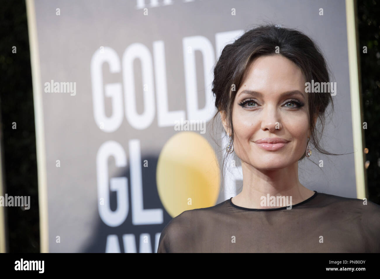 Angelina Jolie, nominated for BEST FOREIGN LANGUAGE FILM for