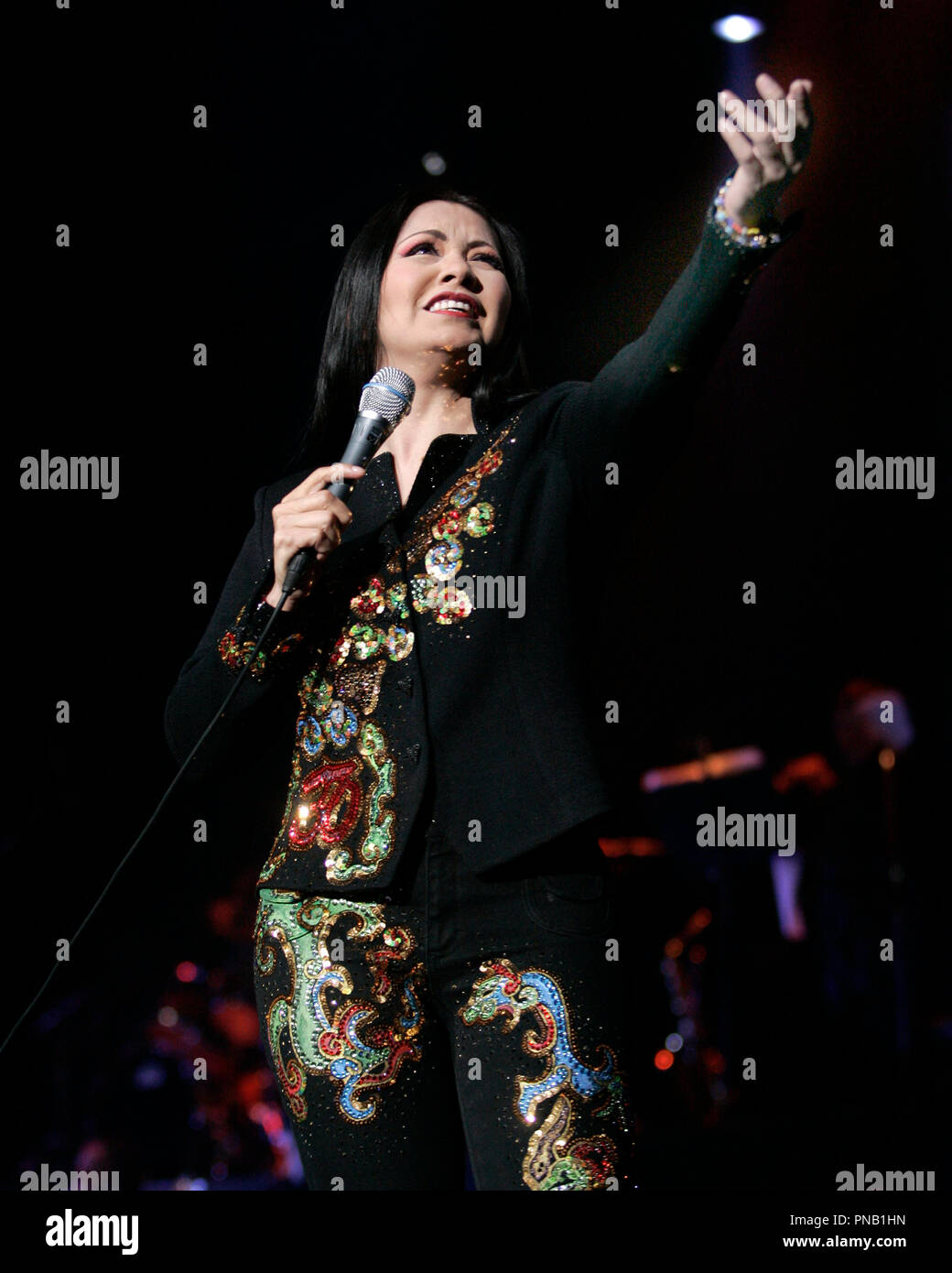 Ana Gabriel Performs In Concert At The Seminole Hard Rock Hotel And Casino In Hollywood Florida On May 17 2006 Stock Photo Alamy