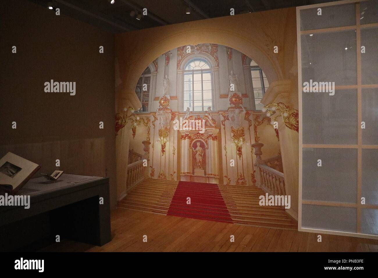 Science Museum 100 years since the death of russia's last Tsar 20 September 2018 - Stock Image