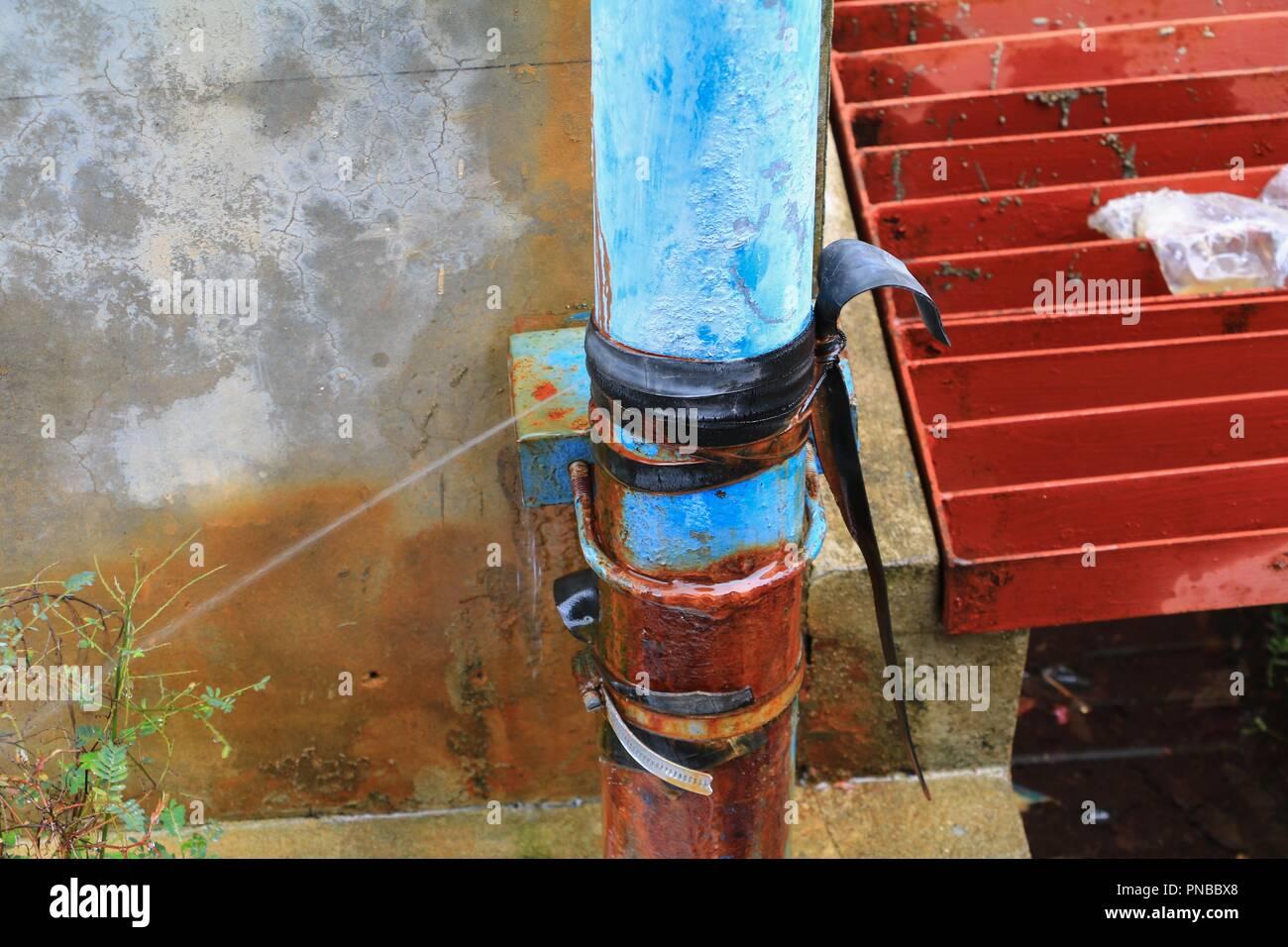 Water Leak Stock Photos & Water Leak Stock Images - Alamy