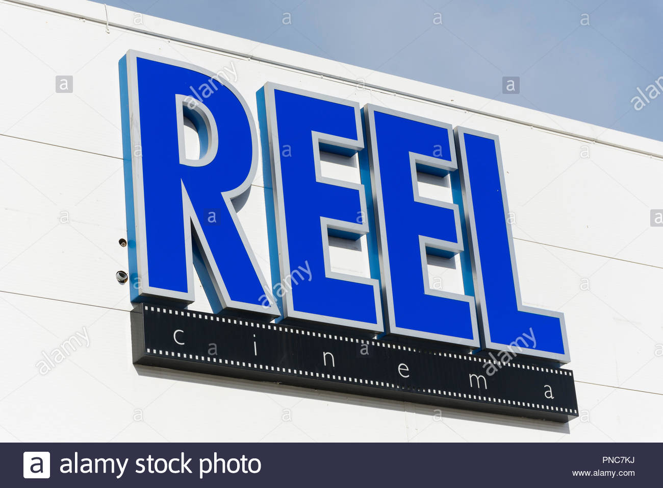 The Reel Cinema in Morecambe, Lancashire - Stock Image