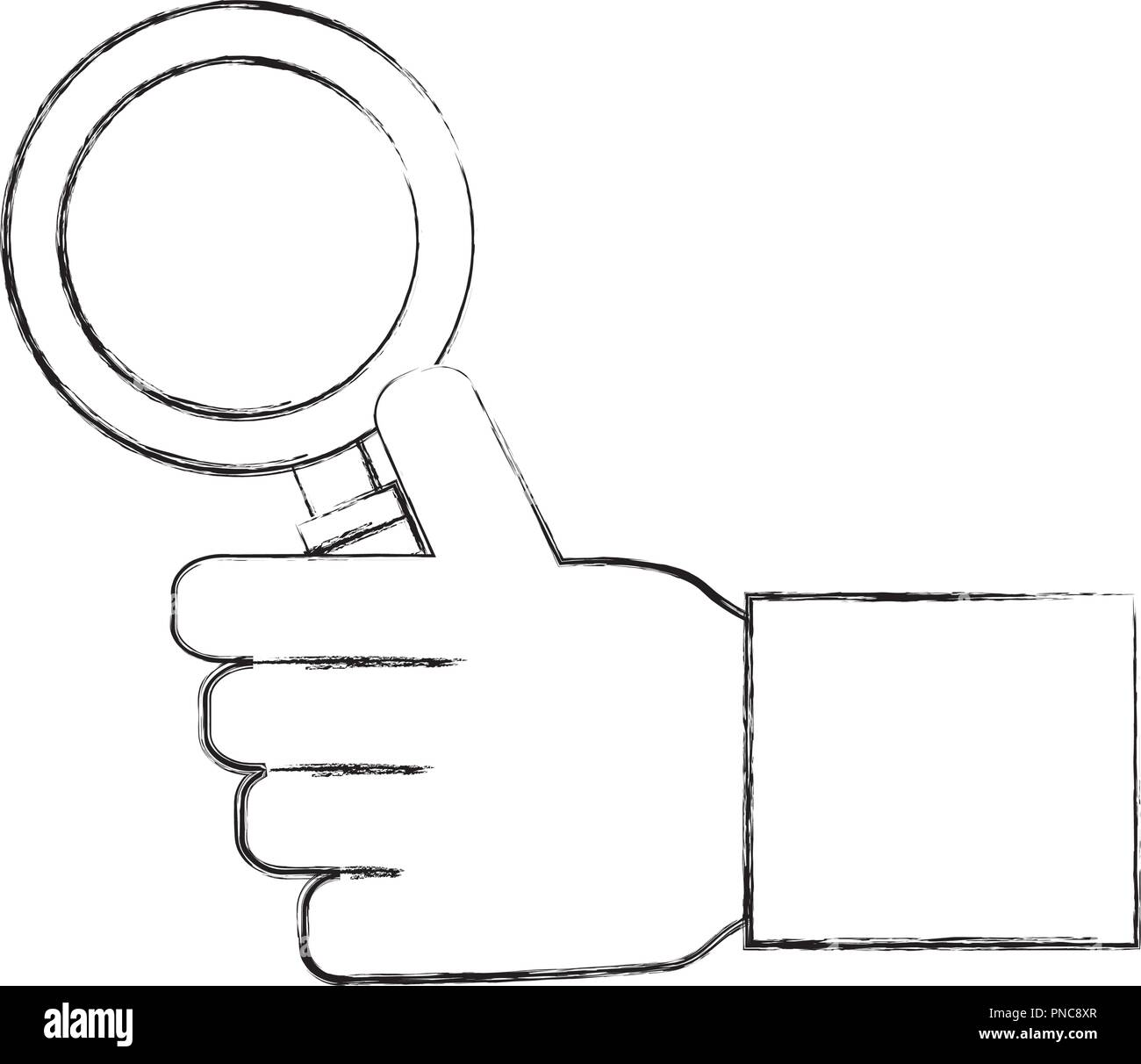 Detective Magnifying Glass High Resolution Stock Photography And Images Alamy