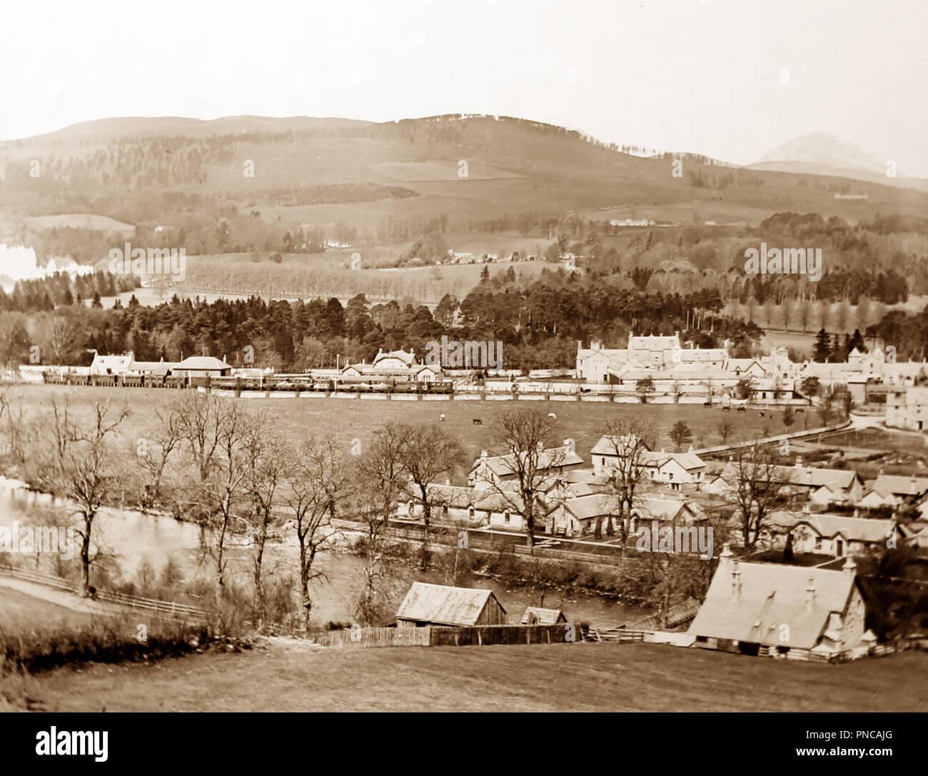 Blair Atholl, Scotland, Victorian period - Stock Image