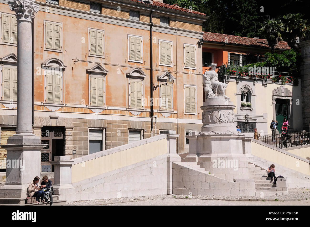 Italy, Friuli Venezia Giulia, Udine, Piazza Liberta. - Stock Image