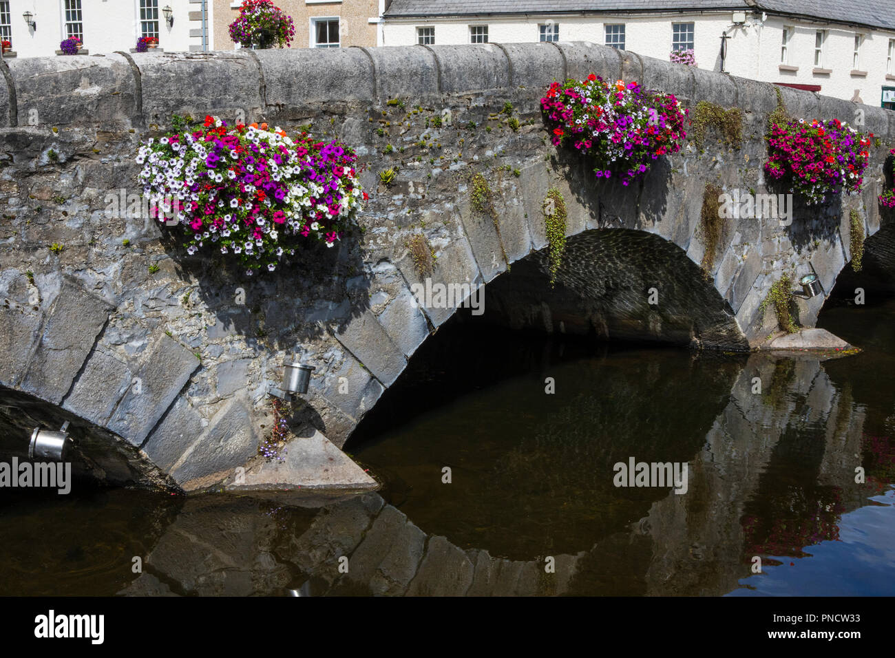 ea824ec3720b5 A bridge over the Carrowbeg River in the town of Westport, County Mayo,  Ireland