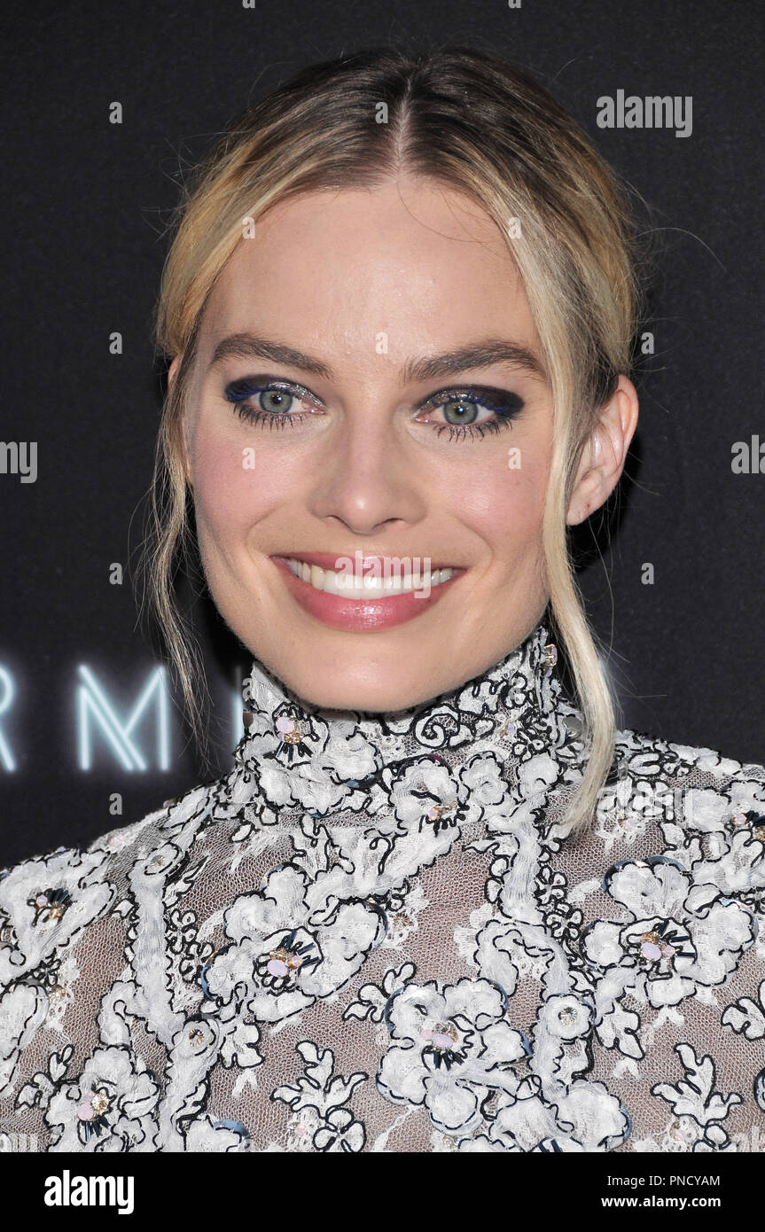 Margot Robbie at the 'Terminal' Premiere held at the ArcLight Hollywood in Los Angeles, CA on Tuesday, May 8, 2018. Photo by PRPP/ PictureLux  File Reference # 33590_001PRPP01  For Editorial Use Only -  All Rights Reserved - Stock Image