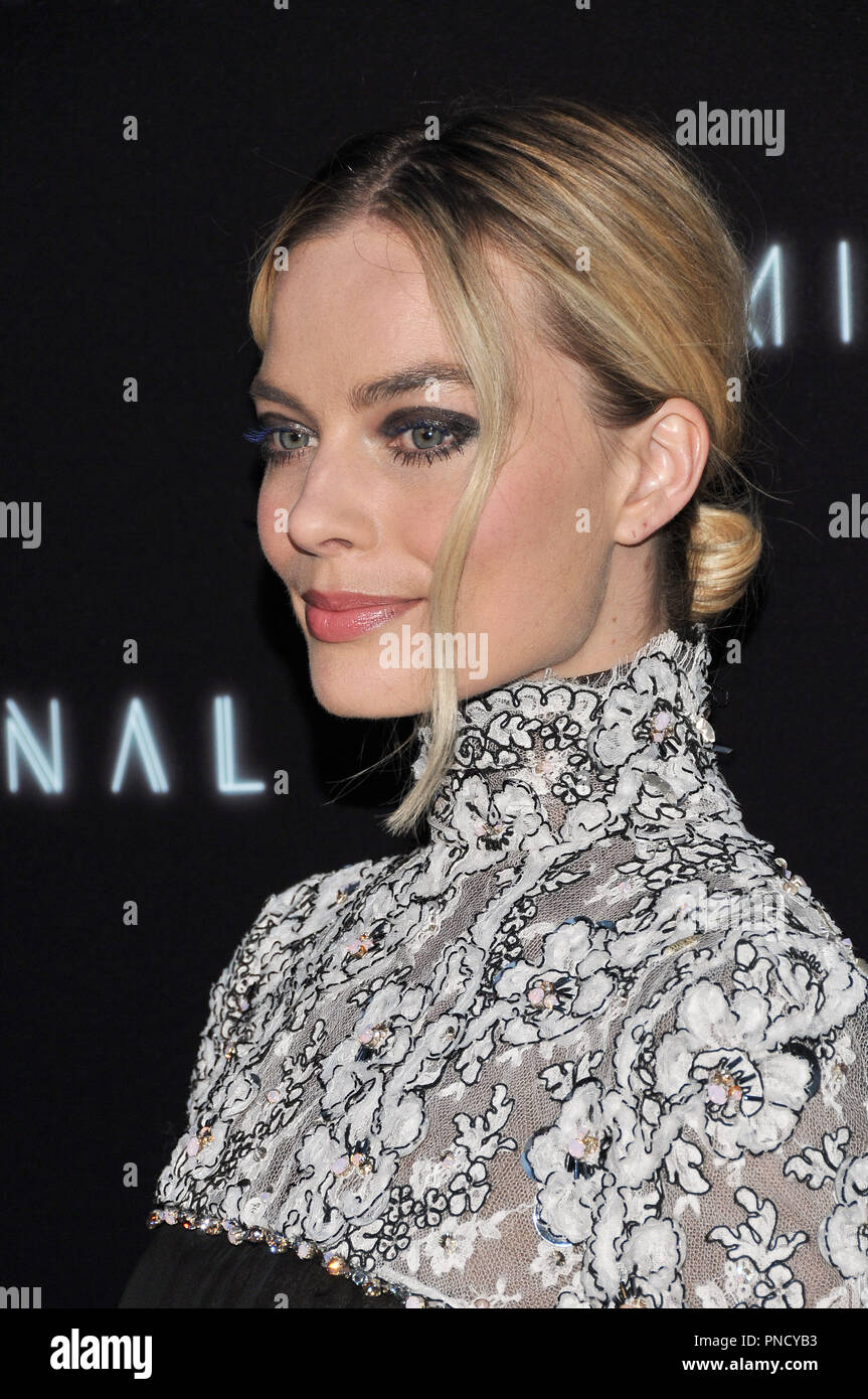 Margot Robbie at the 'Terminal' Premiere held at the ArcLight Hollywood in Los Angeles, CA on Tuesday, May 8, 2018. Photo by PRPP/ PictureLux  File Reference # 33590_007PRPP01  For Editorial Use Only -  All Rights Reserved - Stock Image
