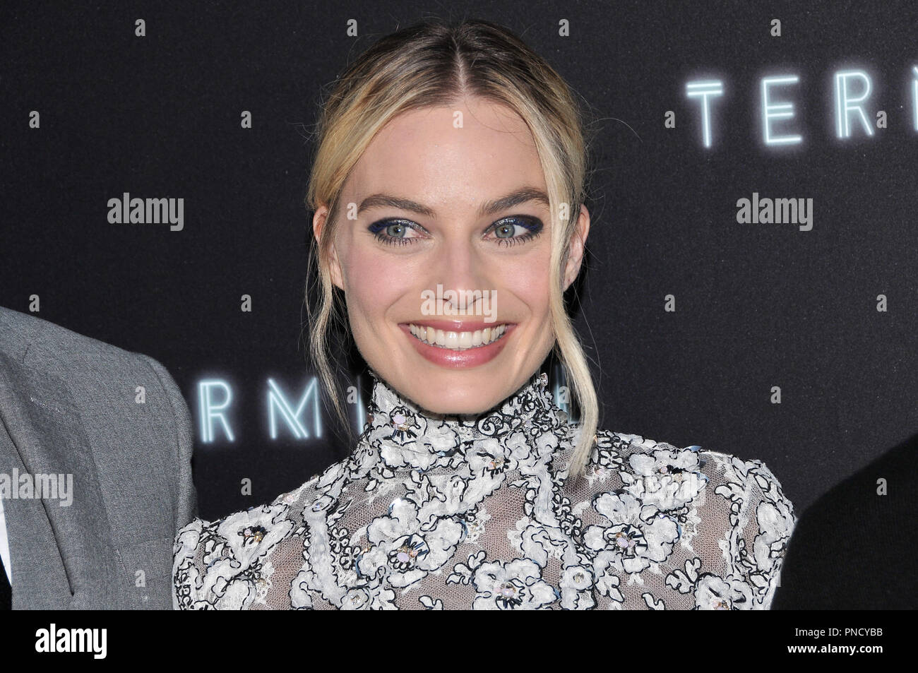 Margot Robbie at the 'Terminal' Premiere held at the ArcLight Hollywood in Los Angeles, CA on Tuesday, May 8, 2018. Photo by PRPP/ PictureLux  File Reference # 33590_013PRPP01  For Editorial Use Only -  All Rights Reserved - Stock Image