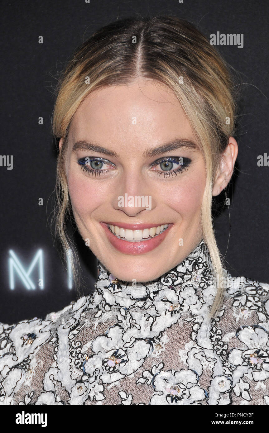Margot Robbie at the 'Terminal' Premiere held at the ArcLight Hollywood in Los Angeles, CA on Tuesday, May 8, 2018. Photo by PRPP/ PictureLux  File Reference # 33590_016PRPP01  For Editorial Use Only -  All Rights Reserved - Stock Image