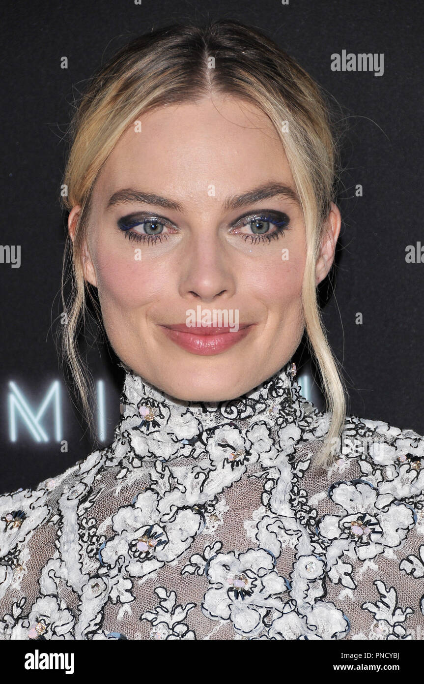 Margot Robbie at the 'Terminal' Premiere held at the ArcLight Hollywood in Los Angeles, CA on Tuesday, May 8, 2018. Photo by PRPP/ PictureLux  File Reference # 33590_018PRPP01  For Editorial Use Only -  All Rights Reserved - Stock Image