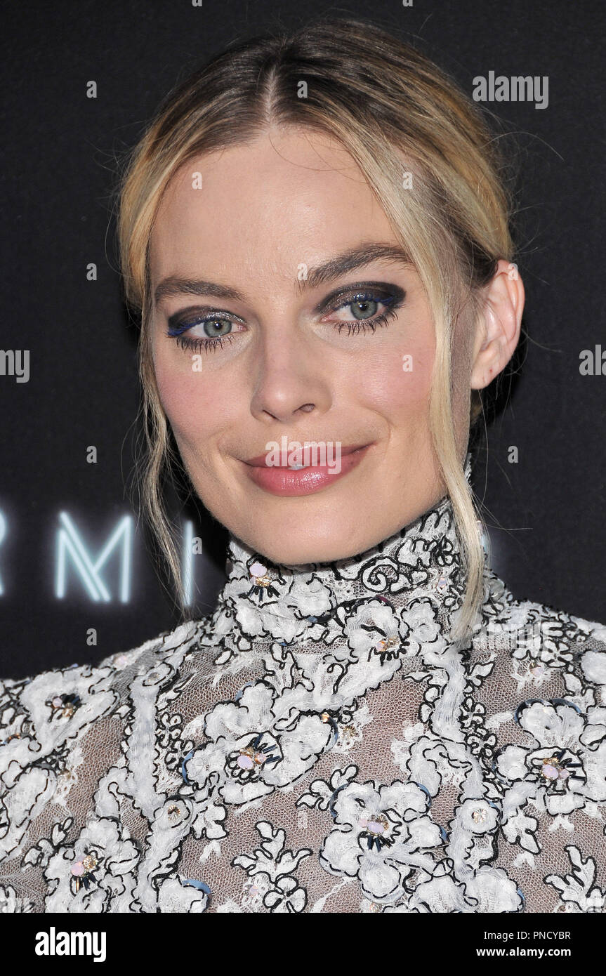 Margot Robbie at the 'Terminal' Premiere held at the ArcLight Hollywood in Los Angeles, CA on Tuesday, May 8, 2018. Photo by PRPP/ PictureLux  File Reference # 33590_020PRPP01  For Editorial Use Only -  All Rights Reserved - Stock Image
