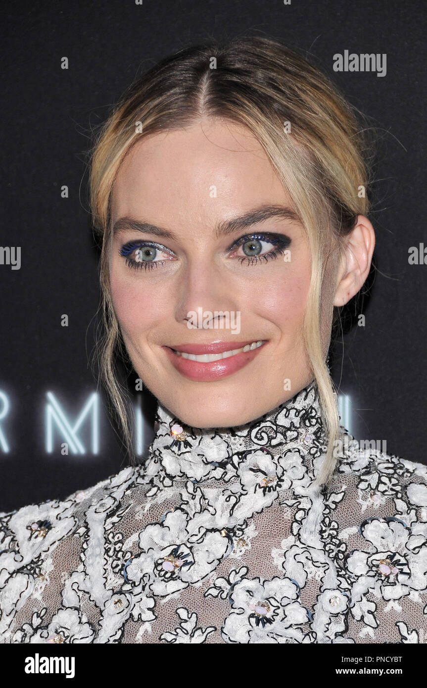 Margot Robbie at the 'Terminal' Premiere held at the ArcLight Hollywood in Los Angeles, CA on Tuesday, May 8, 2018. Photo by PRPP/ PictureLux  File Reference # 33590_021PRPP01  For Editorial Use Only -  All Rights Reserved - Stock Image