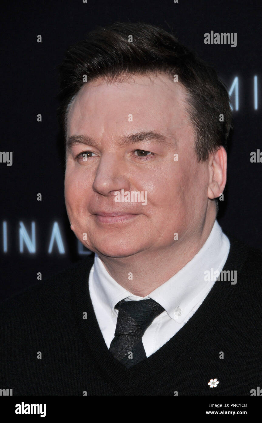 Mike Myers at the 'Terminal' Premiere held at the ArcLight Hollywood in Los Angeles, CA on Tuesday, May 8, 2018. Photo by PRPP/ PictureLux  File Reference # 33590_032PRPP01  For Editorial Use Only -  All Rights Reserved - Stock Image