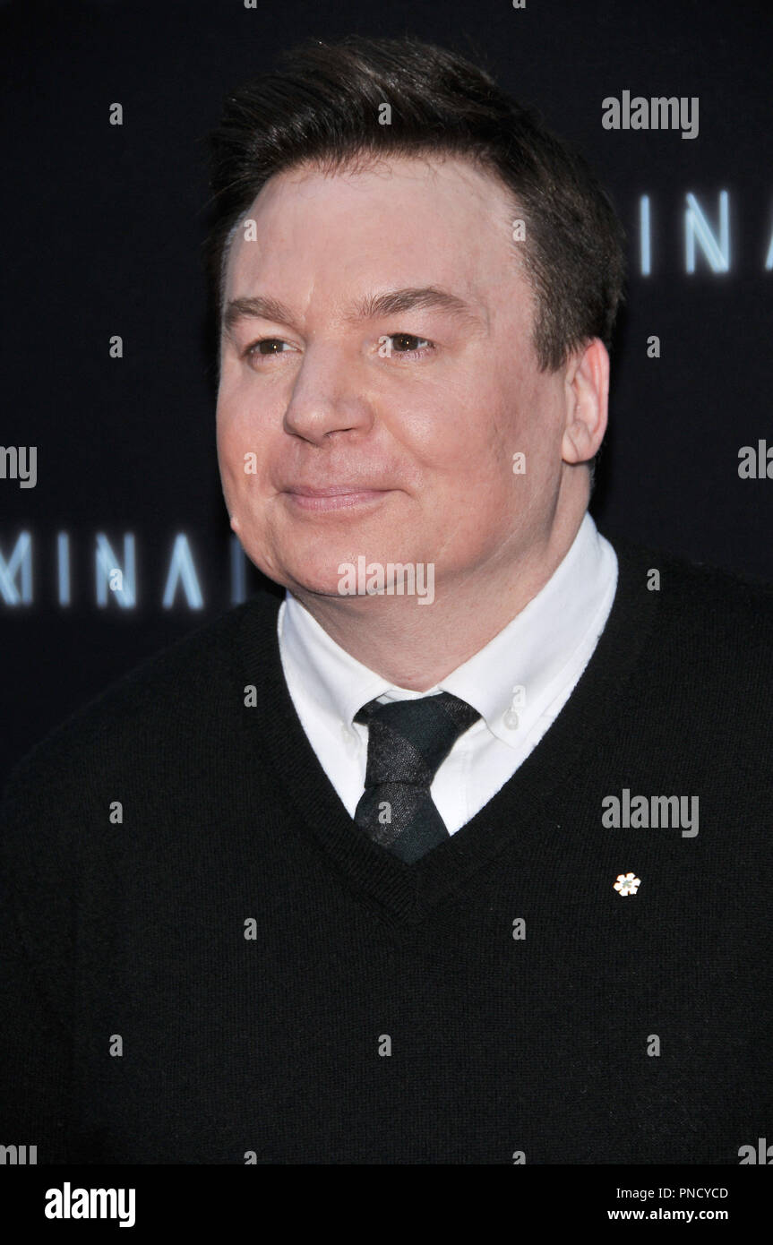 Mike Myers at the 'Terminal' Premiere held at the ArcLight Hollywood in Los Angeles, CA on Tuesday, May 8, 2018. Photo by PRPP/ PictureLux  File Reference # 33590_034PRPP01  For Editorial Use Only -  All Rights Reserved - Stock Image