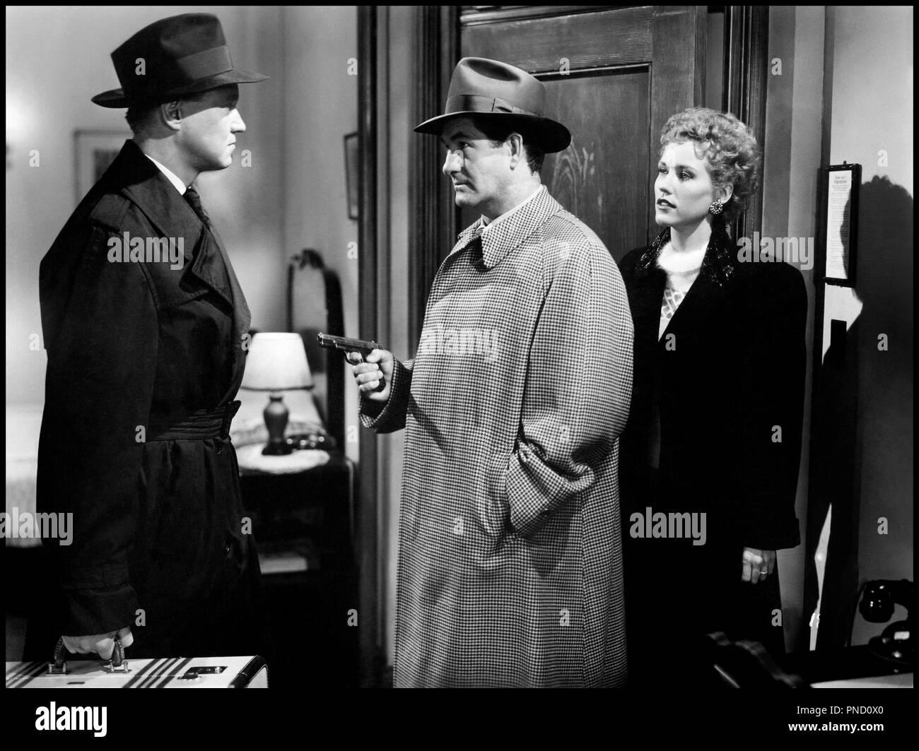 Prod DB © Warner Bros. Pictures / DR GENTLEMAN CAMBRIOLEUR (THE GREAT JEWEL ROBBER) de Peter Godfrey 1950 USA avec David Brian braquer - Stock Image