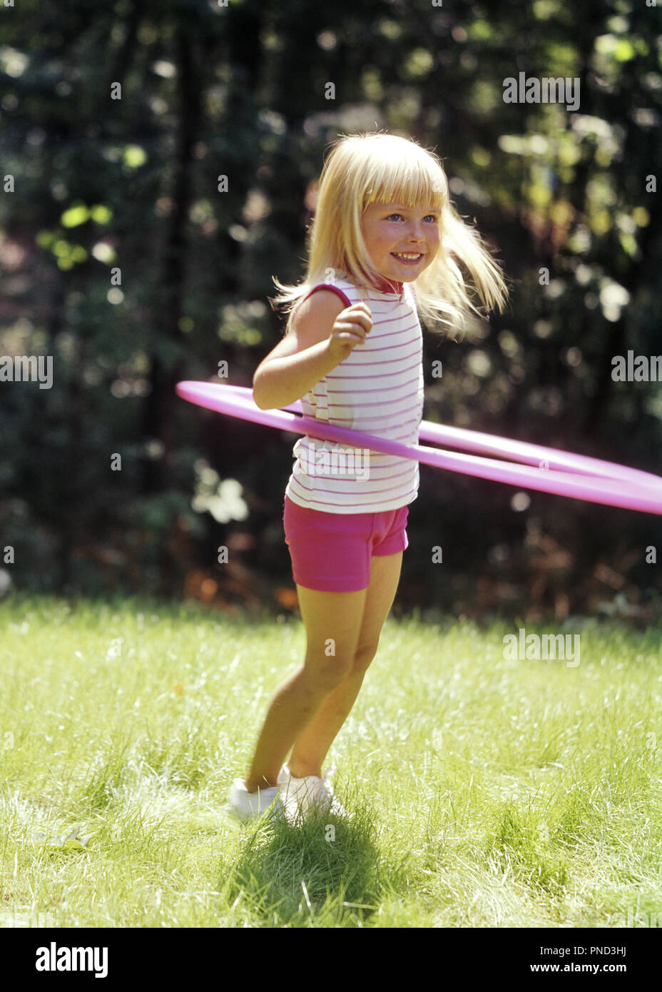 2a129eb2de06 Children Playing Outdoor 1960s Stock Photos   Children Playing ...