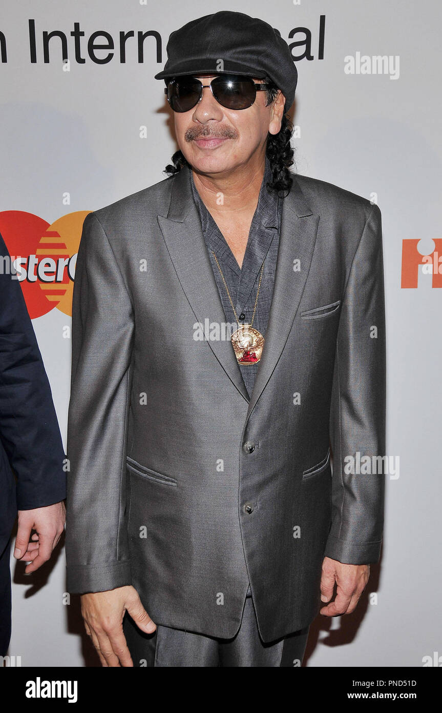 Carlos Santana at The Recording Academy and Clive Davis 2010 Pre-Grammy Gala held at the Beverly Hilton Hotel in Beverly Hills, CA. The event took place on Saturday, January 30, 2010. Photo by PRPP Pacific Rim Photo Press. /PictureLux File Reference # Carlos Santana 13010 5PLX   For Editorial Use Only -  All Rights Reserved Stock Photo