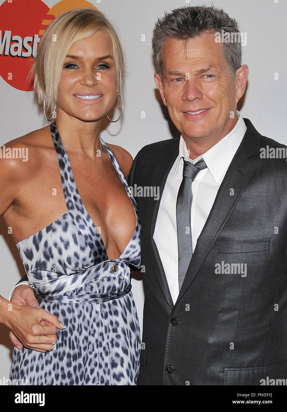 David Foster & wife Yolanda Foster at The Recording Academy and Clive Davis 2010 Pre-Grammy Gala held at the Beverly Hilton Hotel in Beverly Hills, CA. The event took place on Saturday, January 30, 2010. Photo by PRPP_Pacific Rim Photo Press. /PictureLux File Reference # DavidFoster_WifeYolanda_13010PLX   For Editorial Use Only -  All Rights Reserved - Stock Image
