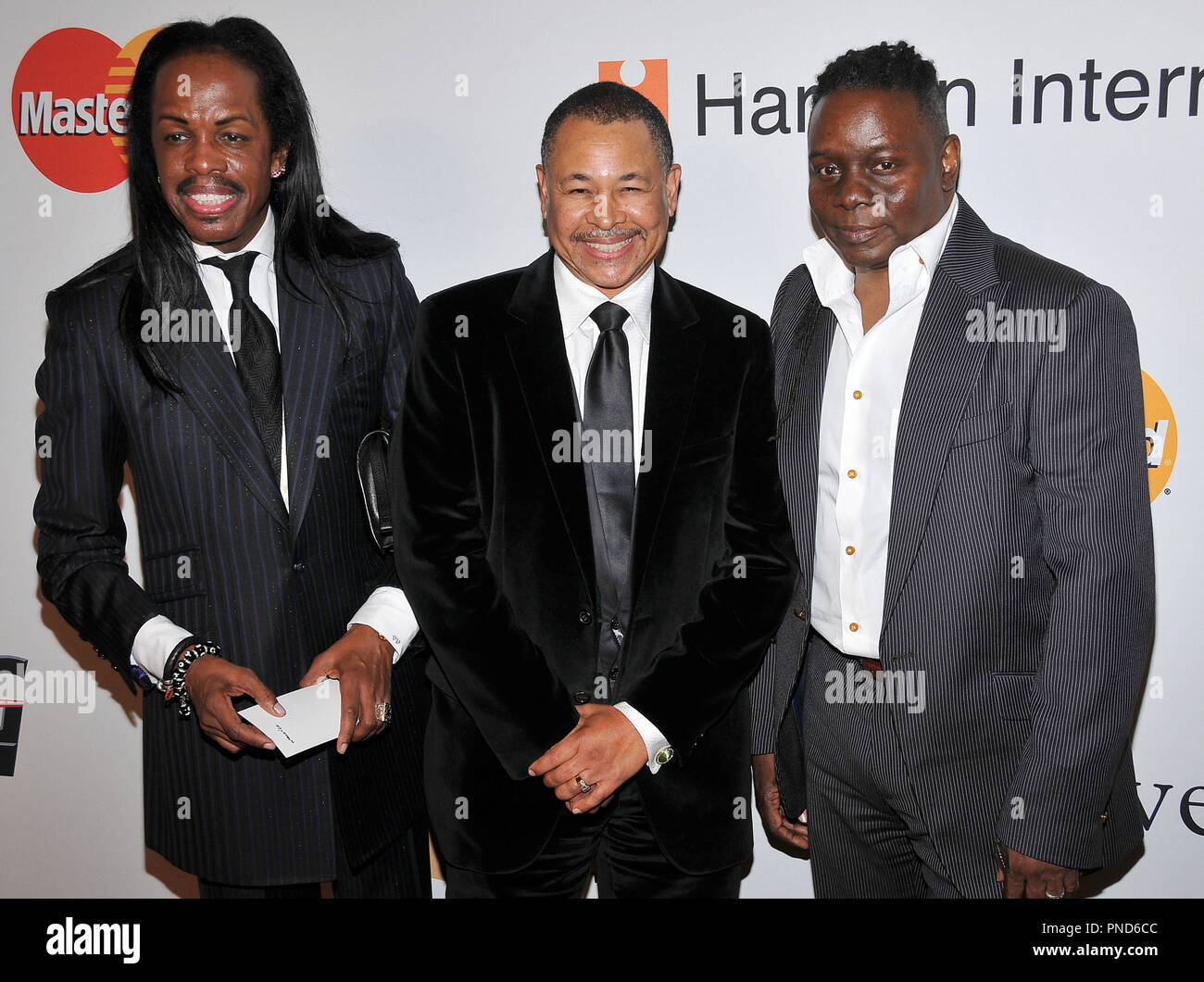 Earth, Wind & Fire at The Recording Academy and Clive Davis 2010 Pre-Grammy Gala held at the Beverly Hilton Hotel in Beverly Hills, CA. The event took place on Saturday, January 30, 2010. Photo by PRPP_Pacific Rim Photo Press. /PictureLux File Reference # Earth_Wind_Fire_13010PLX   For Editorial Use Only -  All Rights Reserved - Stock Image