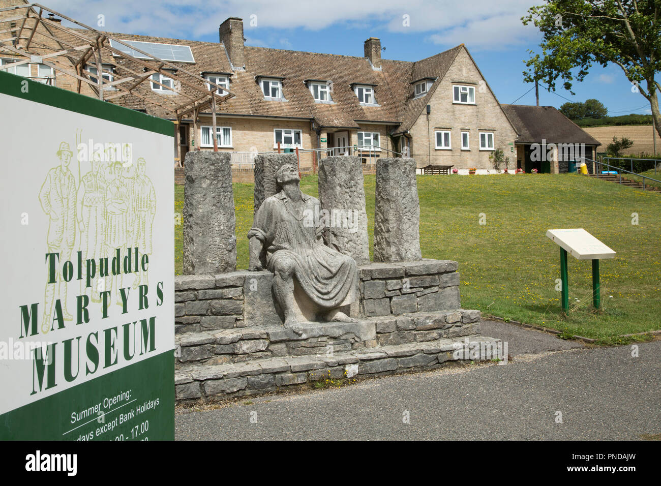 The Tolpuddle Martyrs museum. - Stock Image