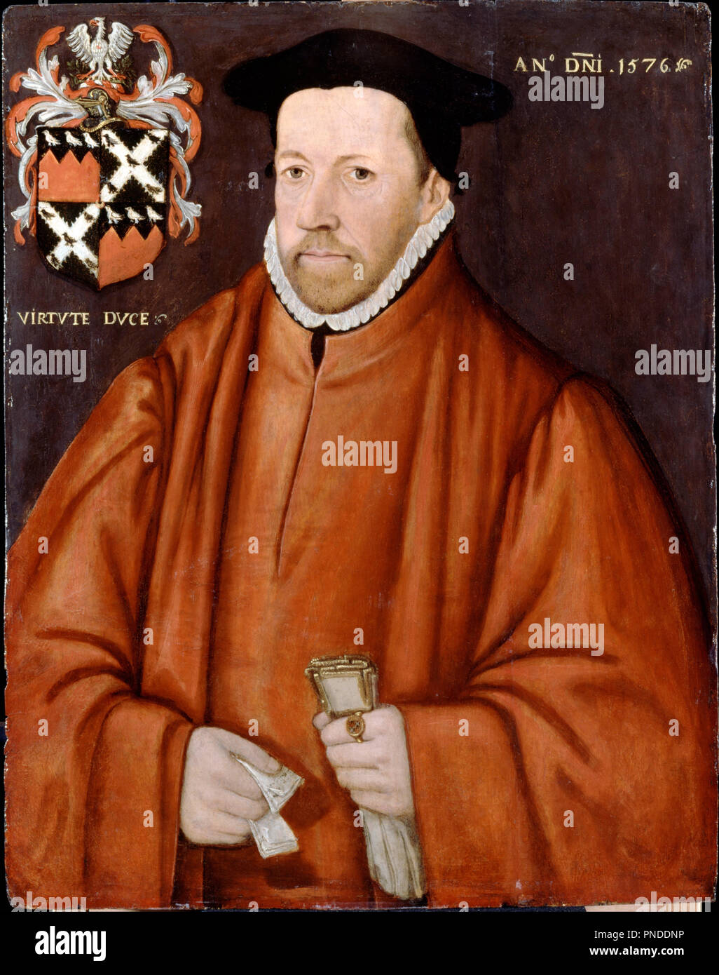 William Lovelace, Serjeant-at-law  Date/Period: 1576  Painting  Oil
