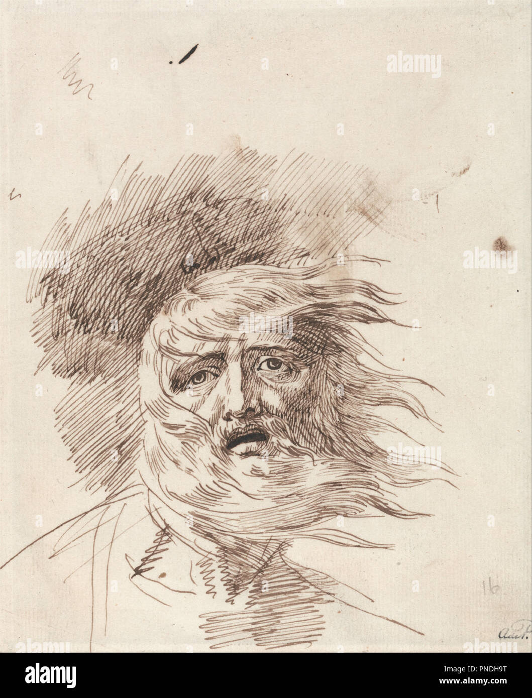 Lear in the Storm,