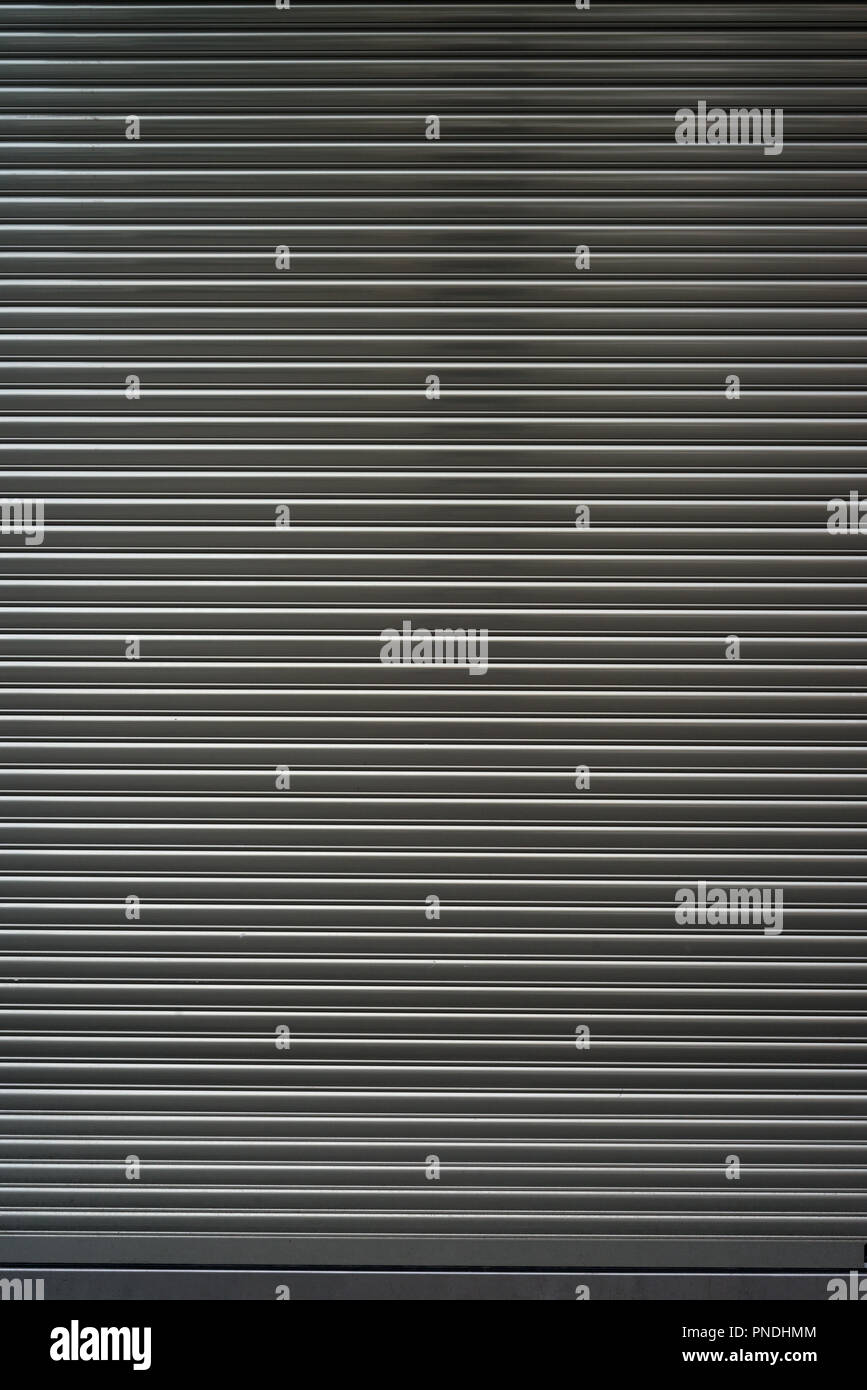 metallic door security Stock Photo