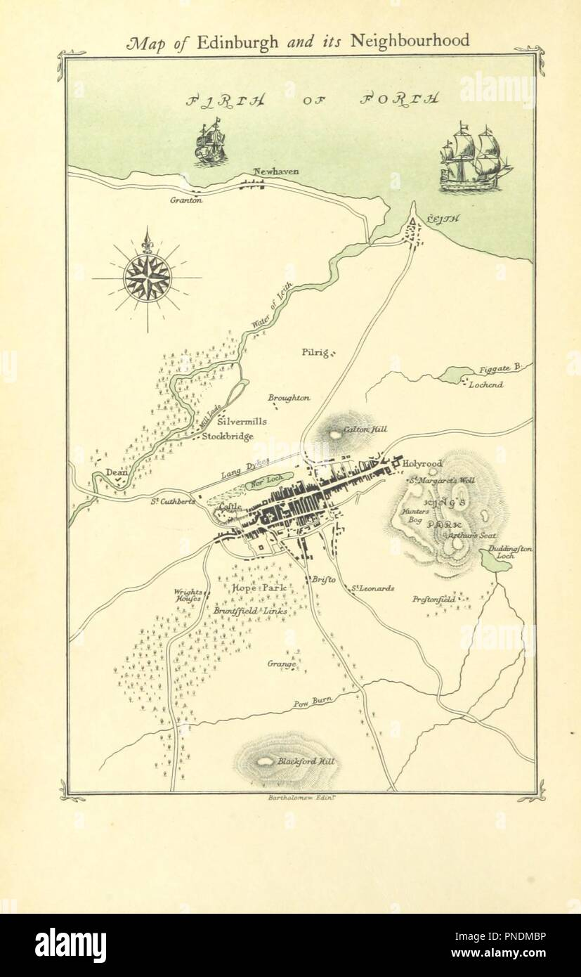 Image  from page 12 of 'The Works of R. L. Stevenson. (Edinburgh edition.) [Edited by Sidney Colvin.]' . - Stock Image