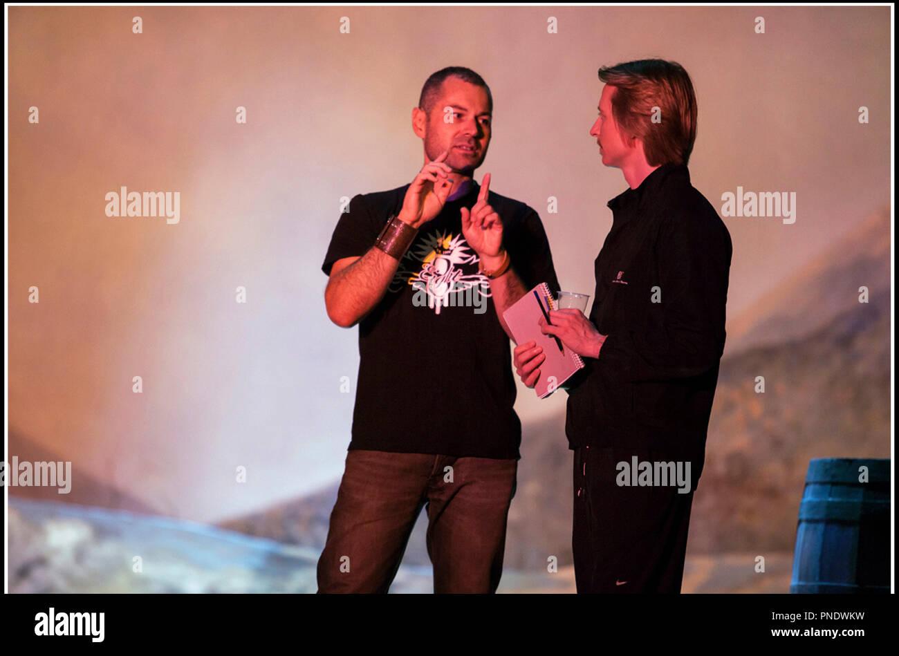 Prod DB © M. Klitscher - General Film Corporation / DR GISELLE de Toa Fraser 2014 NZ avec Toa Fraser sur le tournage - Stock Image