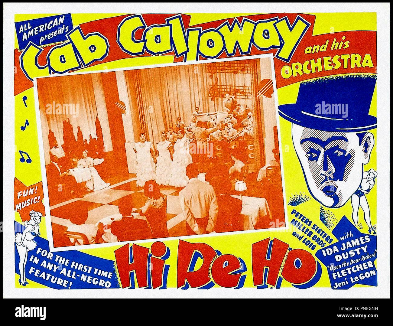 Ida James Hi-De-Ho Movie POSTER 27 x 40 LICENSED NEW ! B Cab Calloway