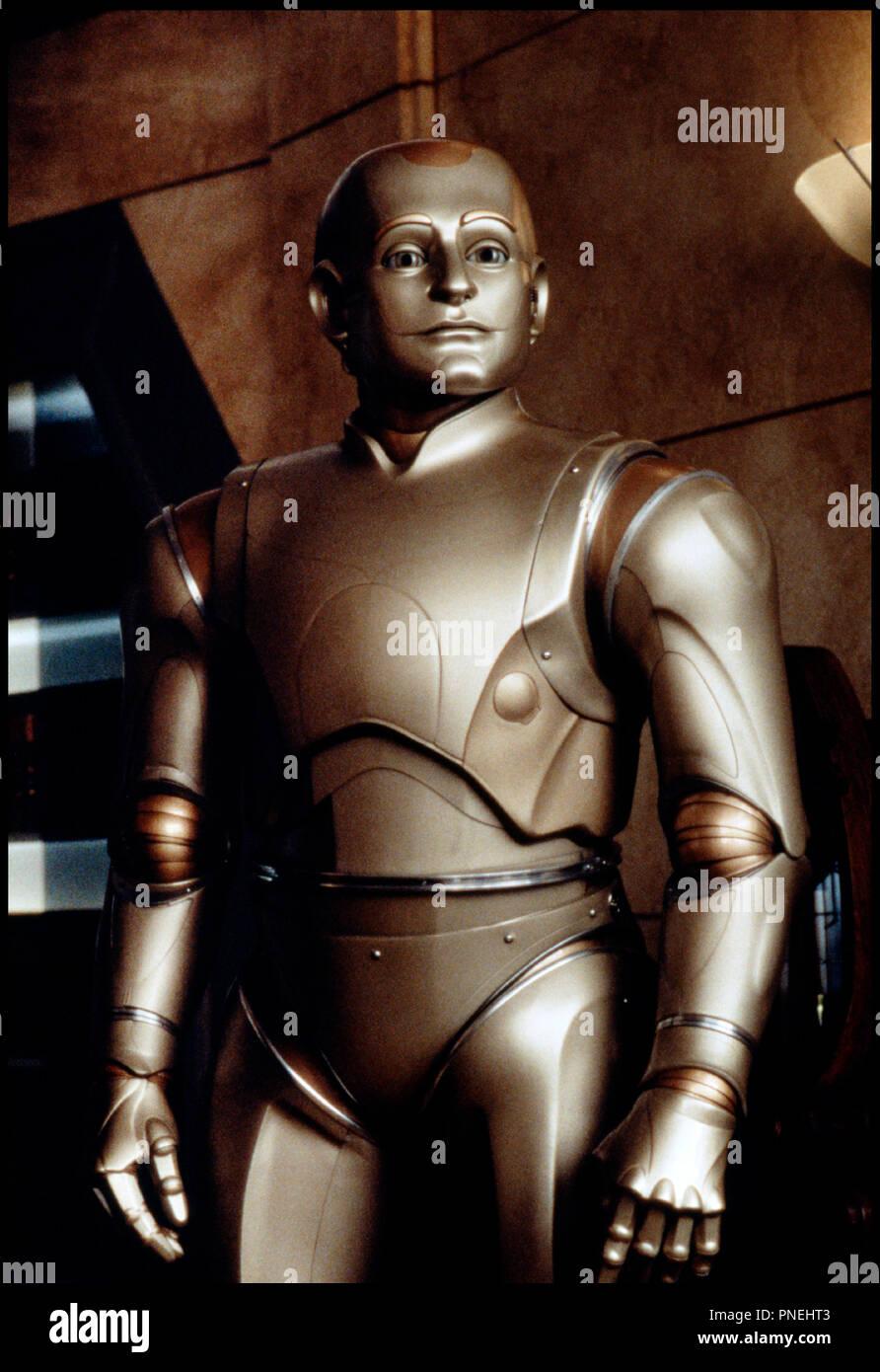 Prod DB © Columbia / DR L'HOMME BICENTENAIRE (BICENTENNIAL MAN) de Chris Columbus 1999 USA avec Robin Williams robot, androïde d'après le roman de Isaac Asimov et Robert Silverberg - Stock Image