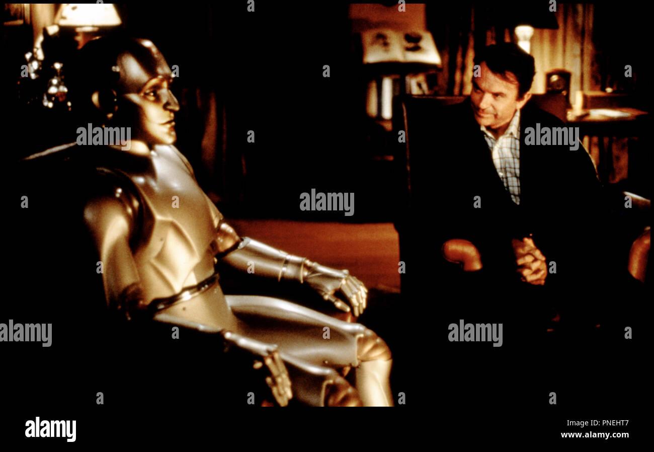 Prod DB © Columbia / DR L'HOMME BICENTENAIRE (BICENTENNIAL MAN) de Chris Columbus 1999 USA avec Robin Williams et Sam Neill robot,  d'apres le roman de Isaac Asimov - Stock Image