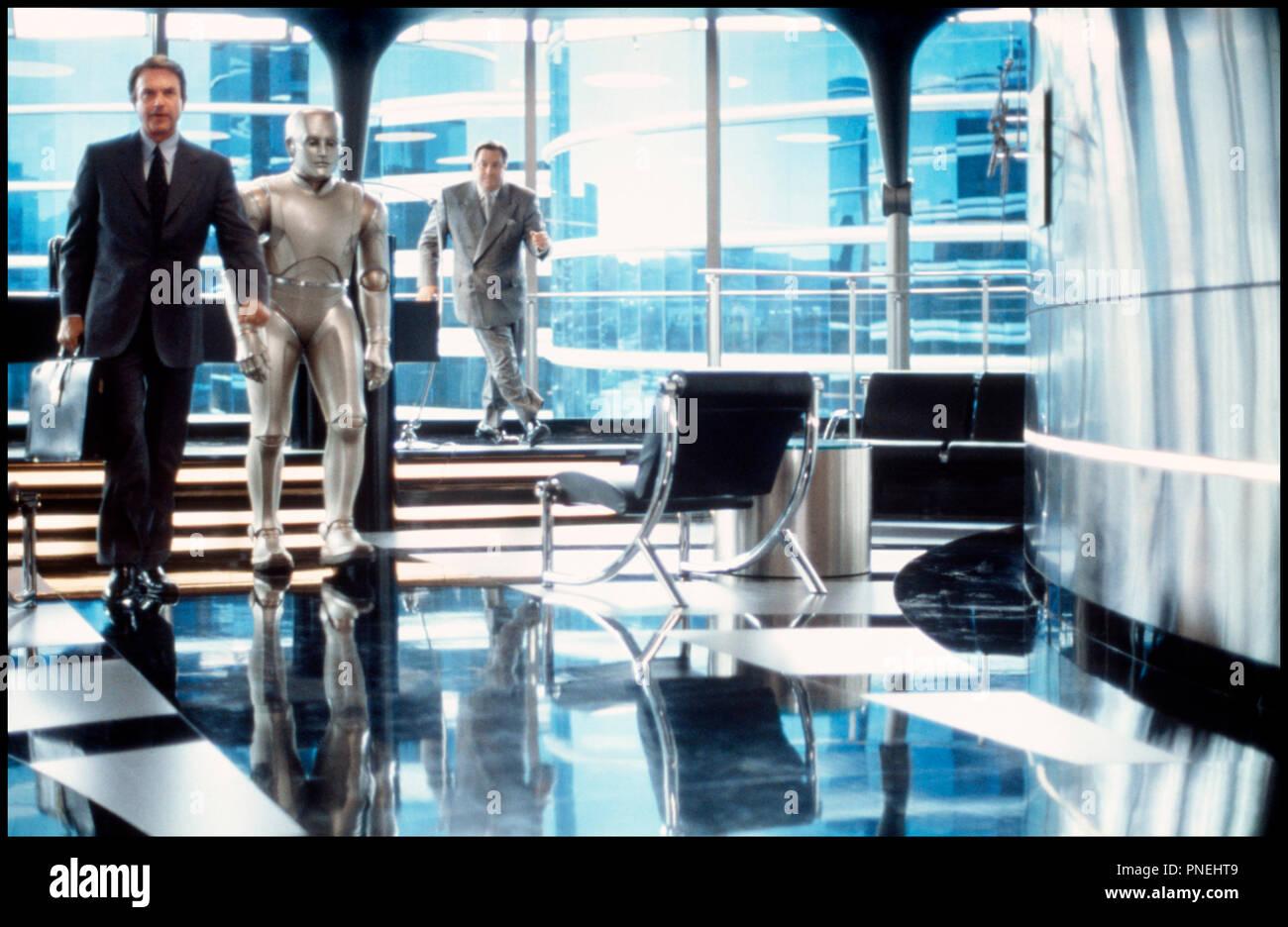 Prod DB © Columbia / DR L'HOMME BICENTENAIRE (BICENTENNIAL MAN) de Chris Columbus 1999 USA avec Sam Neill et Robin Williams robot,  d'apres le roman de Isaac Asimov - Stock Image