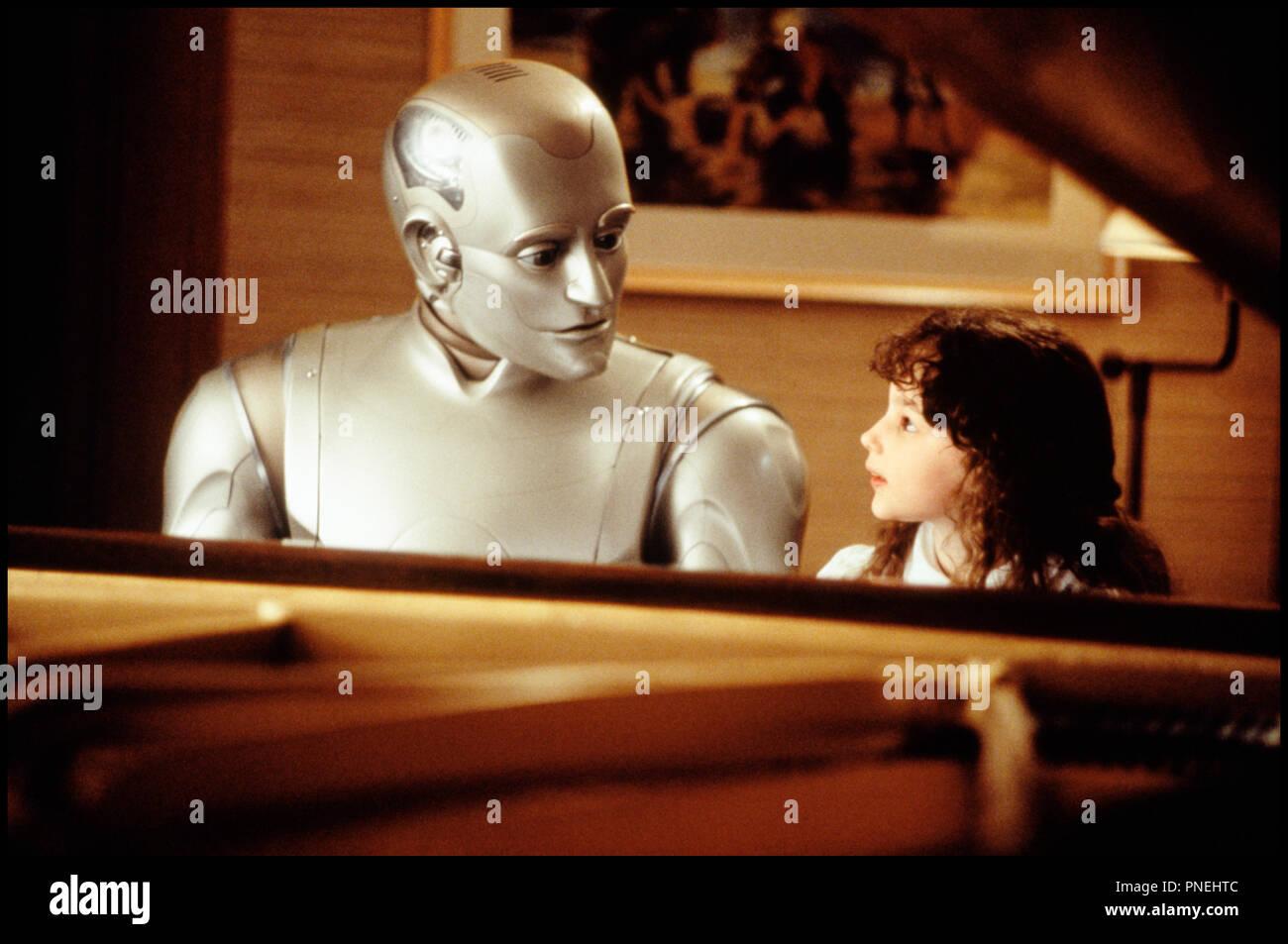 Prod DB © Columbia / DR L'HOMME BICENTENAIRE (BICENTENNIAL MAN) de Chris Columbus 1999 USA avec Robin Williams et Hallie Kate Eisenberg d'apres le roman de Isaac Asimov - Stock Image