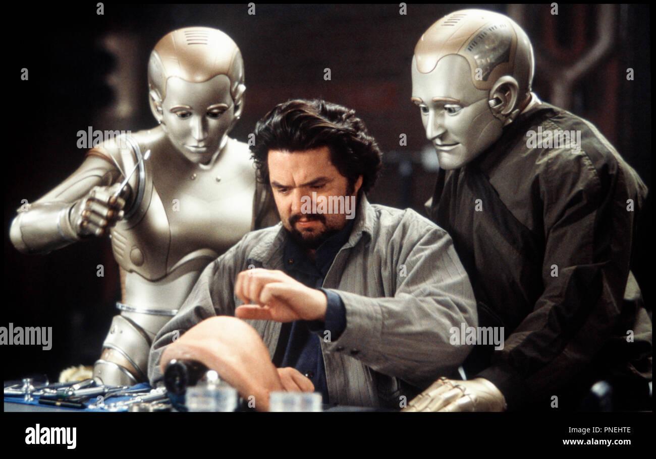Prod DB © Columbia / DR L'HOMME BICENTENAIRE (BICENTENNIAL MAN) de Chris Columbus 1999 USA avec Embeth Davidtz, Oliver Platt et Robin Williams robots d'apres le roman de Isaac Asimov - Stock Image